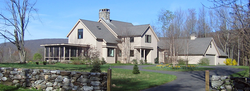 RATHEDON - RESIDENTIAL DESIGN BY CONNECTICUT ARCHITECT JOHN MILNES BAKER