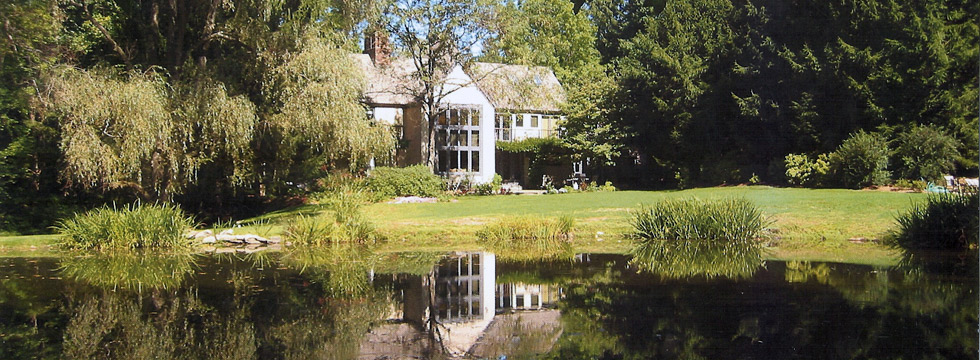 Large connecticut home of and designed by architect John Milnes Baker, AIA