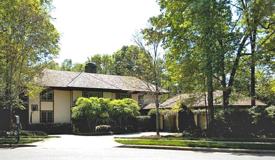 House by architect John Milnes Baker, AIA