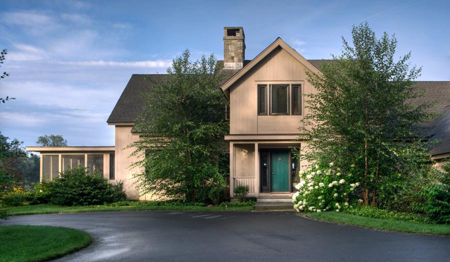 RESIDENTIAL DESIGN by architect John Milnes Baker, AIA